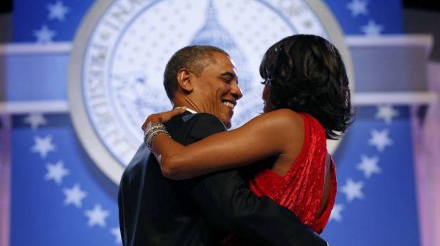 FOTOS: Barack Obama y su esposa Michelle ofrecieron glamoroso baile en noche de gala por su investidura