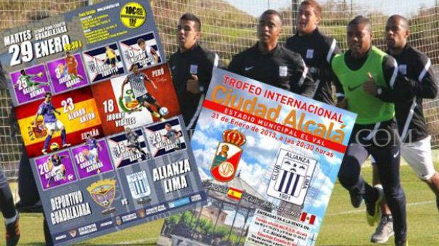 Amistosos de Alianza Lima en España los transmitirá América TV en vivo