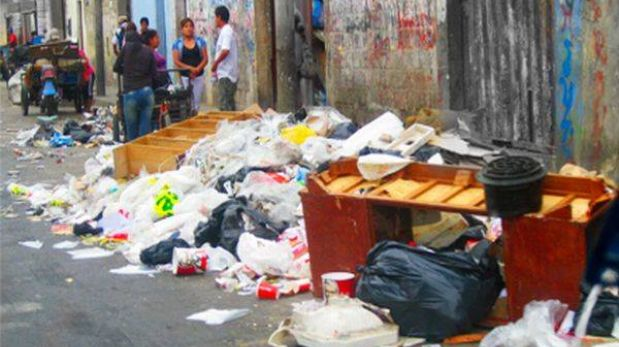 """Municipalidad de Lima reconoce """"responsabilidad compartida"""" por limpieza en Av. Huánuco"""