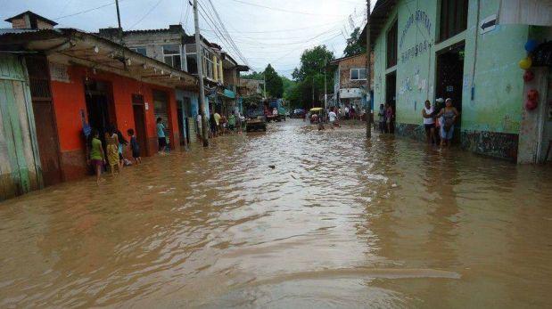 FOTOS: desborde de ríos en San Martín afecta a Bellavista y Saposoa