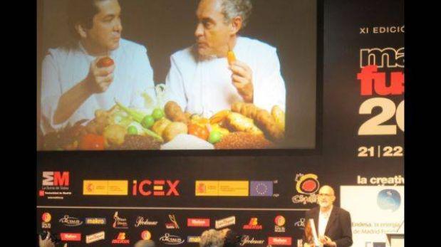 Madrid Fusión: periodista español muestra al mundo el paraíso culinario del Perú