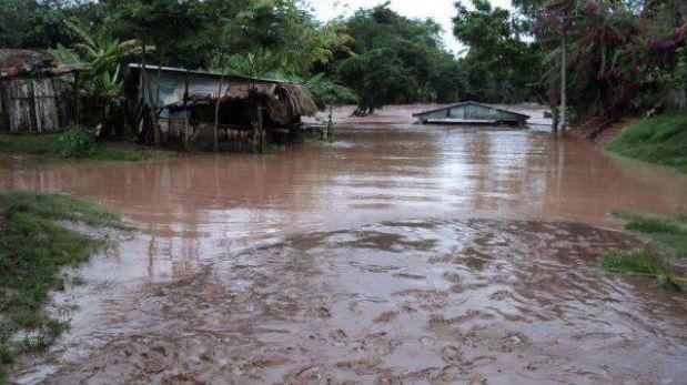 San Martín: pobladores tomaron carretera por riesgo de desborde del río Huallaga