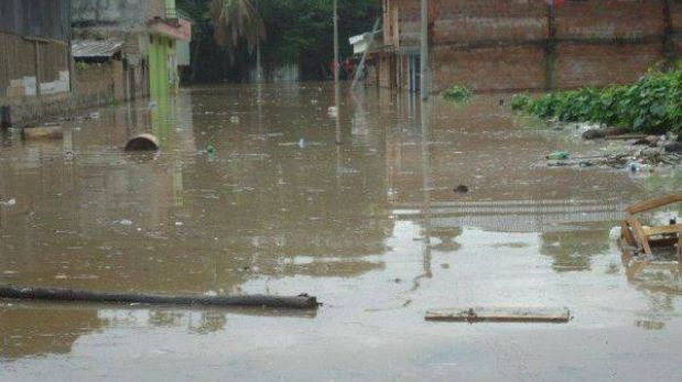 San Martín: desborde de ríos afectó a 1.730 familias