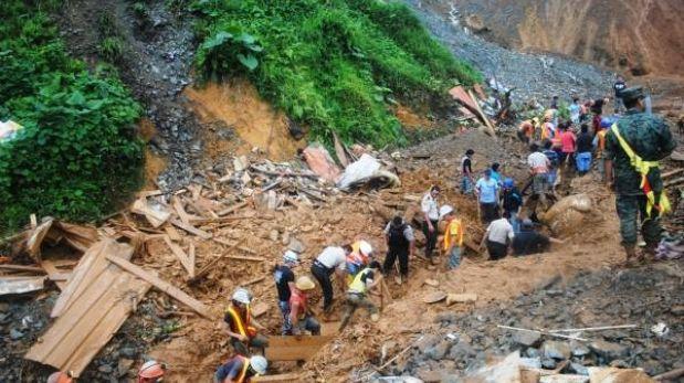 Ecuador: recuperaron el cadáver del cuarto peruano fallecido en mina