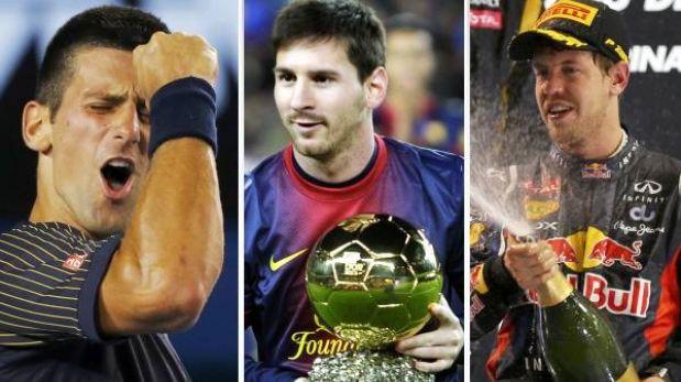 Djokovic, Messi y Vettel, estrellas de la generación de 1987