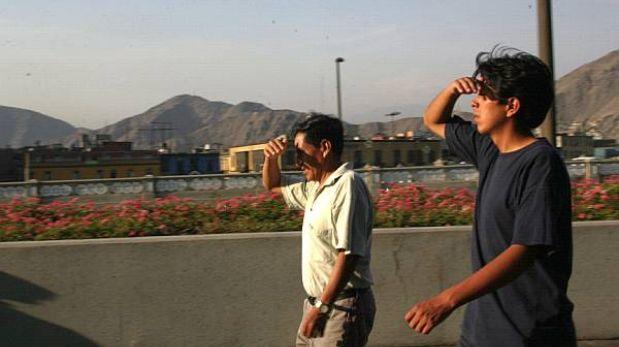 La temperatura en Lima Este llegará a 30°C el fin de semana