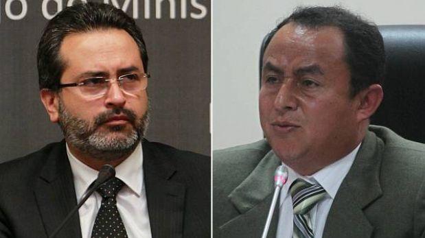 Primer ministro y Gregorio Santos se reúnen en la sede de la PCM