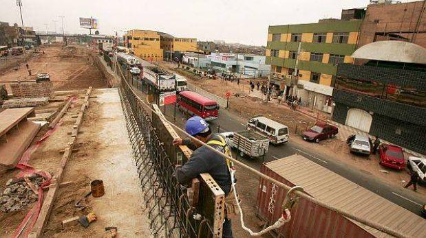 Compromisos de inversión privada en transportes solo han crecido 2,16%