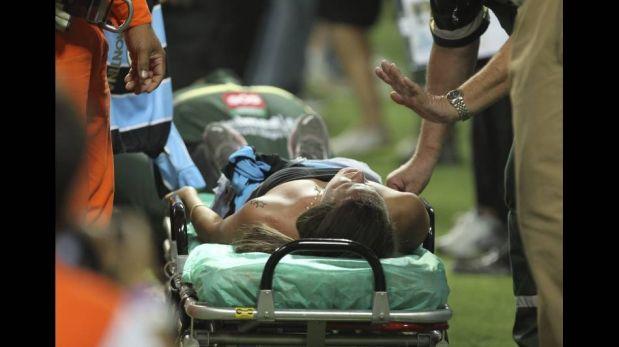 FOTOS: Gremio vs. Liga de Quito por la Libertadores casi termina en tragedia al romperse baranda del estadio