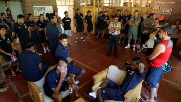 FOTOS: La Sub 20 de Perú se relaja en Aguas Termales de Mendoza, previo al partido con Chile