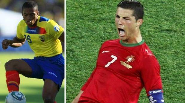 Ecuador chocará en Lisboa ante Portugal de Cristiano Ronaldo
