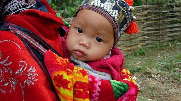 En Vietnam los bebes dejan de usar pañal a los 9 meses