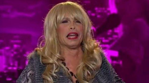 """Steven Tyler audicionó como travesti en """"American Idol"""""""