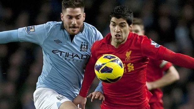 Manchester City empató 2-2 ante Liverpool y deja escapar al United