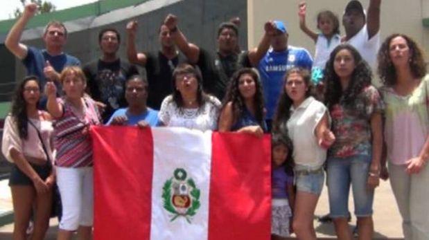 Sub 20 de Perú recibió el valioso aliento de sus familiares