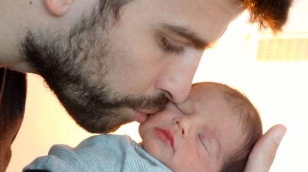 Shakira compartió la primera foto de su hijo Milan
