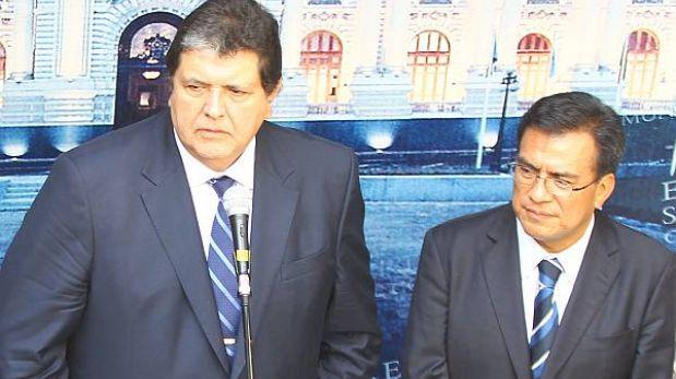 "Velásquez Quesquén: ""Alan García no tiene problema en levantar su secreto bancario"""