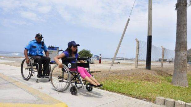Miraflores habilita playa La Estrella para personas con discapacidad