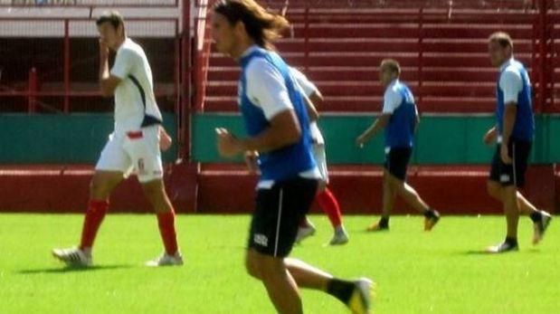 'Zlatan' Fernández volvió a jugar en Argentinos Juniors después de 6 meses