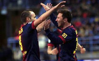 Iniesta dejó abierta la posibilidad de retirarse con Messi en Newell's
