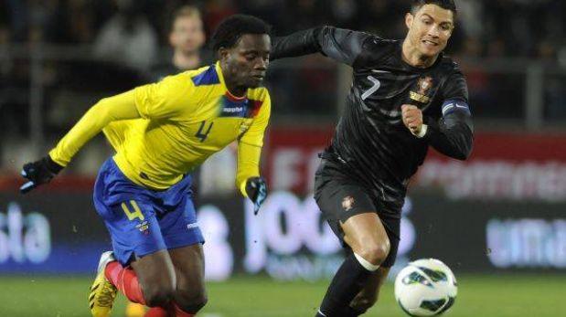 Ecuador sorprendió a Portugal de Cristiano Ronaldo y le ganó 3-2