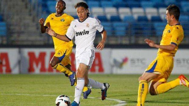 Cristian Benavente anotó en el triunfo del Real Madrid Juvenil