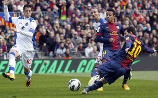 FC Barcelona goleó 6-1 al Getafe y Messi marcó por décimo tercer partido seguido