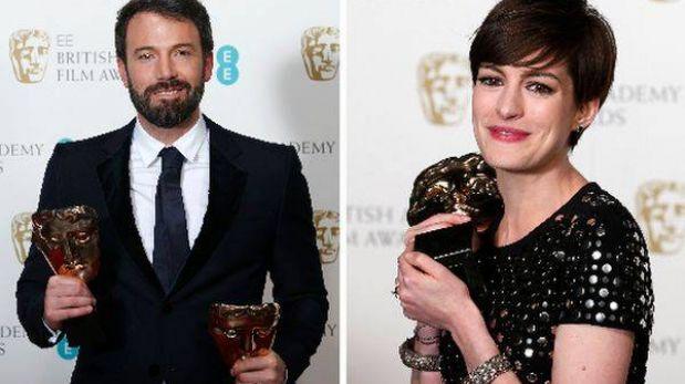 """""""Argo"""", Ben Affleck y Anne Hathaway: los grandes triunfadores del Bafta"""