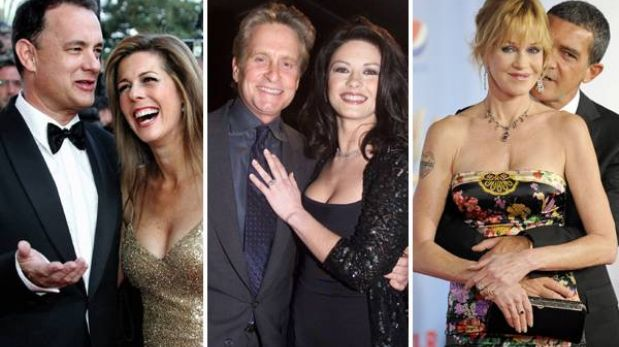 Día de San Valentín: las parejas más sólidas de Hollywood