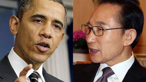 Corea del Sur y EE.UU. firman plan de respuesta a Corea del Norte