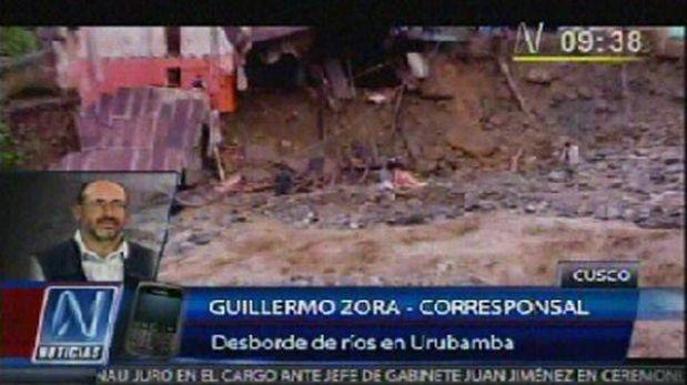 Cusco: caída de huaico dejó aislado pueblo de Maranura en La Convención