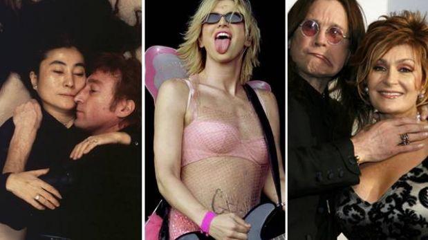 Las 10 novias más famosas del rock