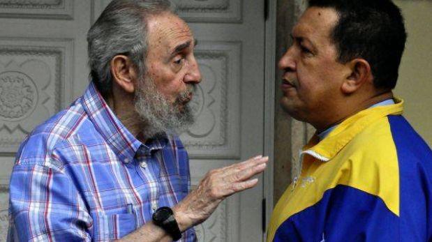 """Cuba destaca que Chávez acompañó a Fidel Castro """"como un hijo verdadero"""""""