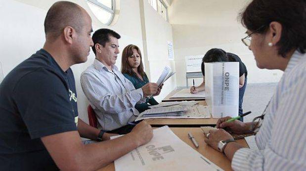 El JEE resolvió más de 5 mil actas observadas en la revocación en Lima