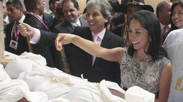 Nadine Heredia viajó a Nueva York para el lanzamiento del Año de la Quinua