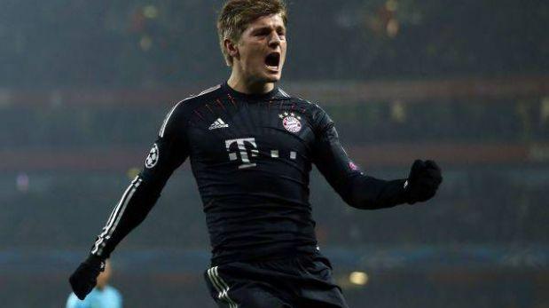 Bayern Múnich venció de visita 3-1 al Arsenal por la Champions