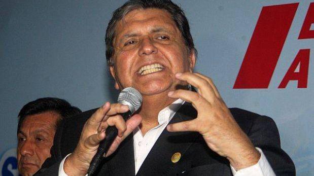 La megacomisión no aprobó levantar el secreto bancario de Alan García