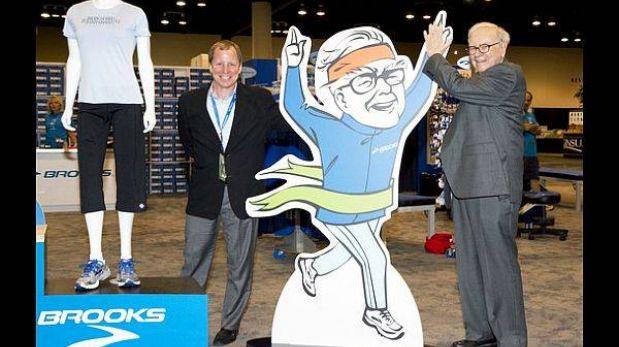 Warren Buffett, el multimillonario que será imagen de unas zapatillas