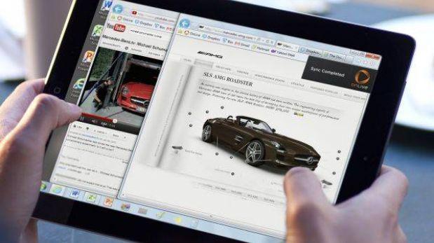 Las ventas de tabletas a nivel mundial crecieron 78% en el 2012