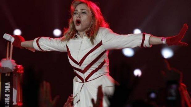 Madonna fue la artista con más ganancias en la música en 2012