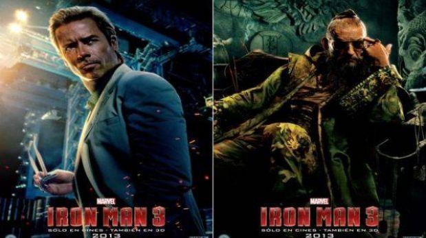 """Estos son los villanos de """"Iron Man 3"""""""