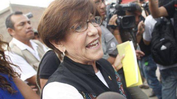 """Susana Villarán: """"Una autoridad como yo no está pensando en encuestas"""""""