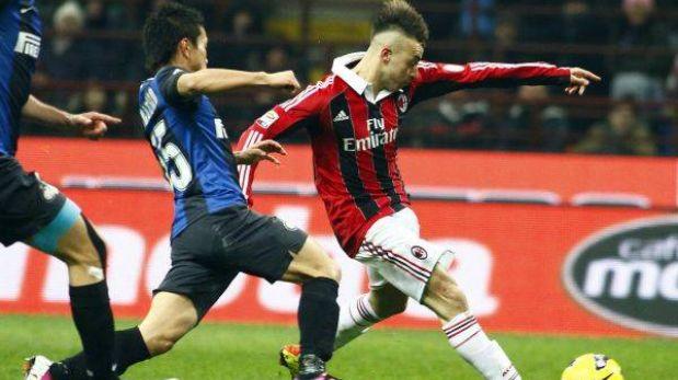 Inter y Milan igualaron 1-1 en el derbi del fútbol italiano