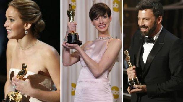 Premios Óscar 2013: estos son todos los ganadores de la gala