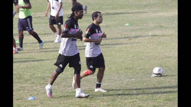 FOTOS: el 'Cóndor' Mendoza, la carta de gol del Pacífico FC, entrenó con su nuevo equipo