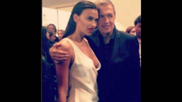 Mario Testino se lució con Irina Shayk en su muestra fotográfica