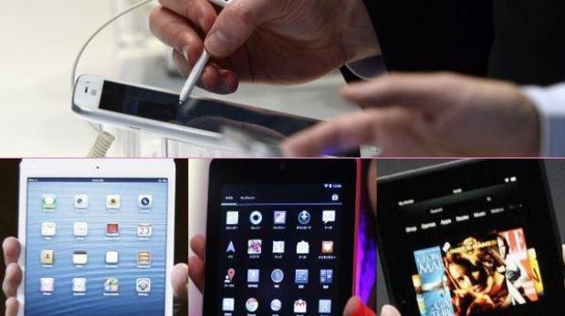 Tabla comparativa: la Galaxy Note 8.0 frente a la iPad mini, la Nexus 7 y la Kindle Fire HD