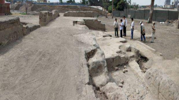 Once tumbas preincas fueron ubicadas dentro de la Videna en San Luis