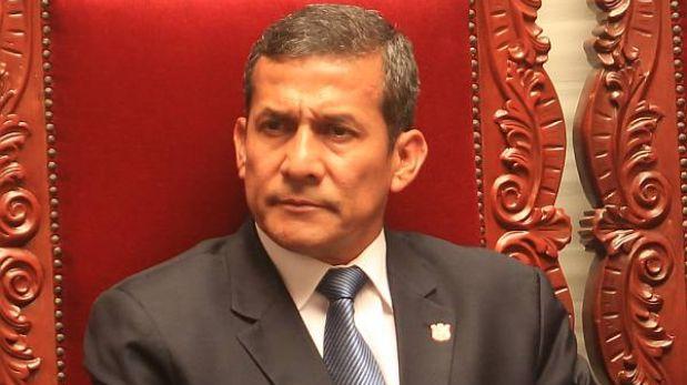 El presidente Ollanta Humala no participa en el Conasec
