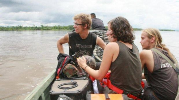 FOTOS: el Gobierno publicó imágenes de turistas de EE.UU. que se creía estaban perdidos en la selva